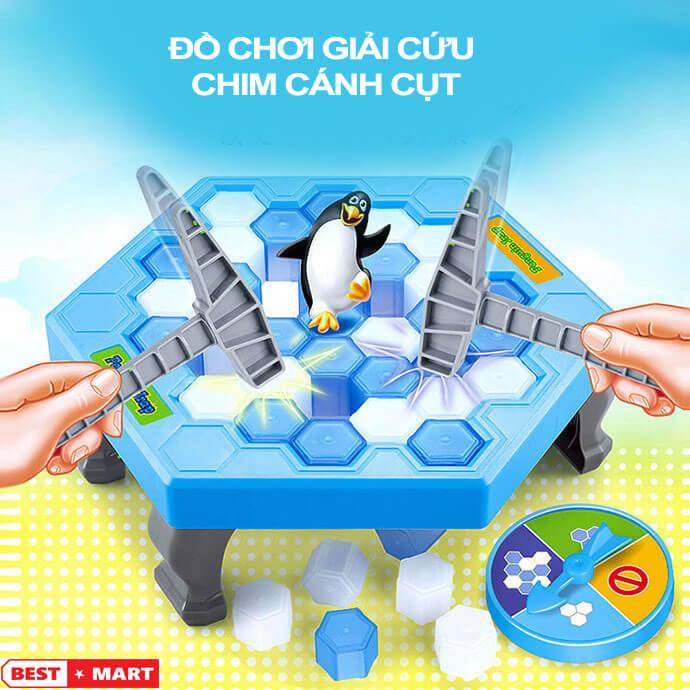 Đồ chơi phá băng giải cứu chim cánh cụt