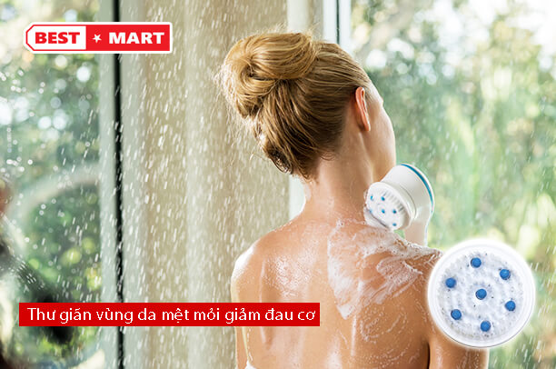 Dụng cụ tắm massage Spin Spa