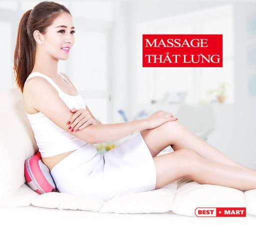 Gối massage hồng ngoại Kömer nhập khẩu Đức - K206