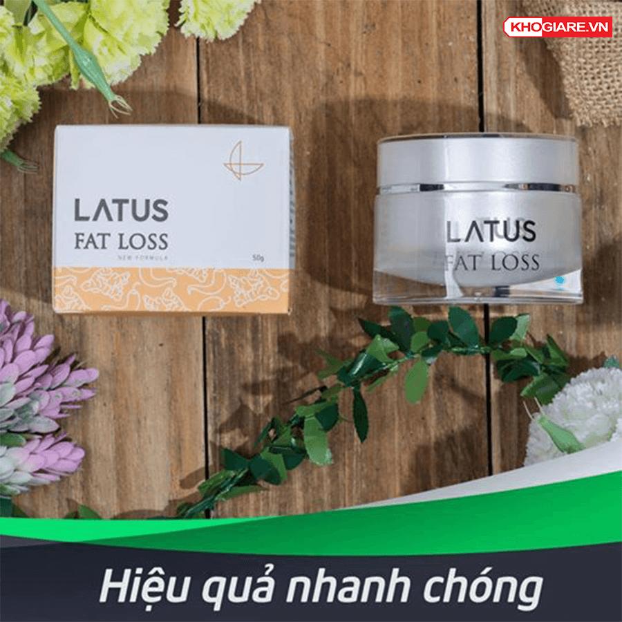 Kem Tan Mỡ Thảo Dược Latus Fat Loss