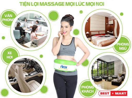Đai Massage Rung Nóng Twin
