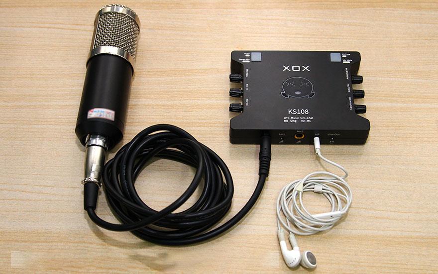 Sound Card XOX K10 Hát Karaoke