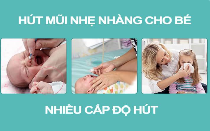 Máy Hút Mũi Cho Bé Bằng Điện ICHIKO- Tặng Quà Của Hãng