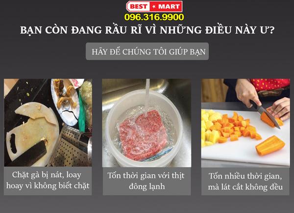 Dụng Cụ Chặt Thịt Gà - Thái Thịt