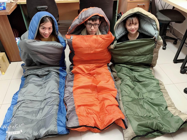 Túi Ngủ Hàn Quốc Siêu Ấm