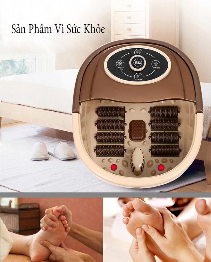 Bồn ngâm chân hồng ngoại massage