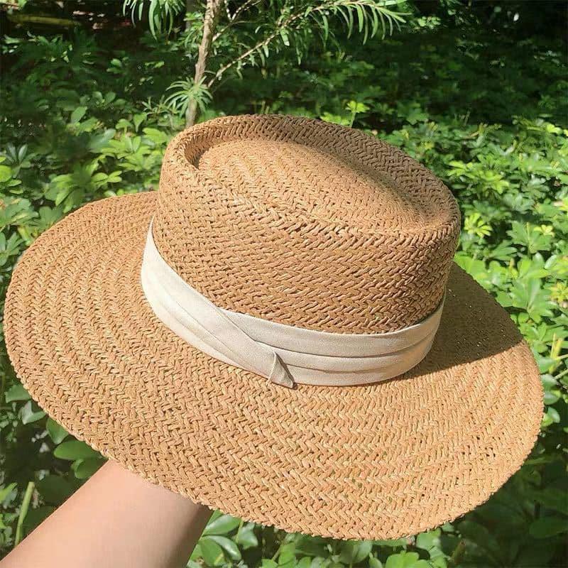 Nón mũ cói đi biển đẹp giá rẻ