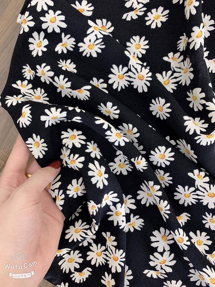 Váy 2 Dây Hoa Cúc Cúp Ngực