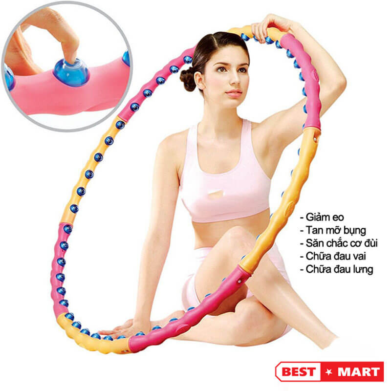 Vòng lắc eo Massage Hoop