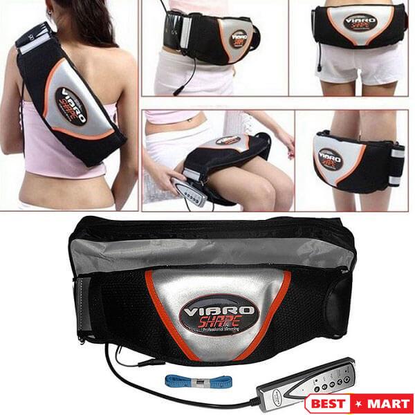 Đai massage giảm mỡ bụng Vibro Shape Tặng quà của hãng