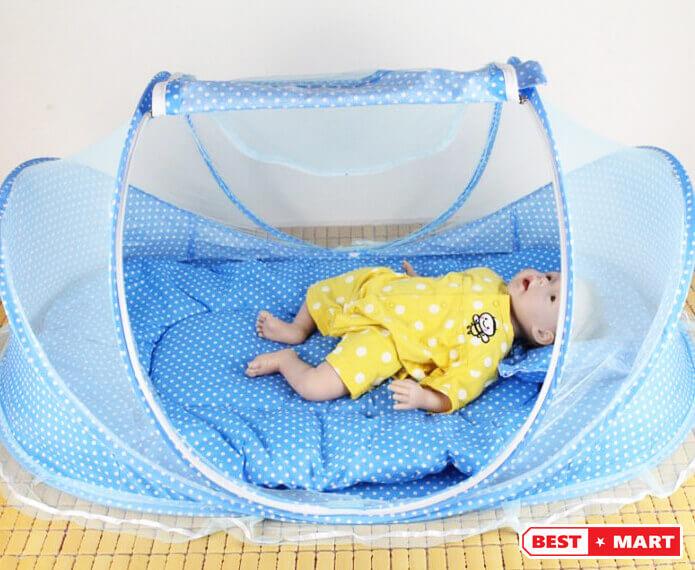 Màn chụp chống muỗi cho bé
