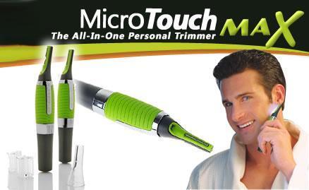 Máy tỉa lông mũi Micro Touch Max