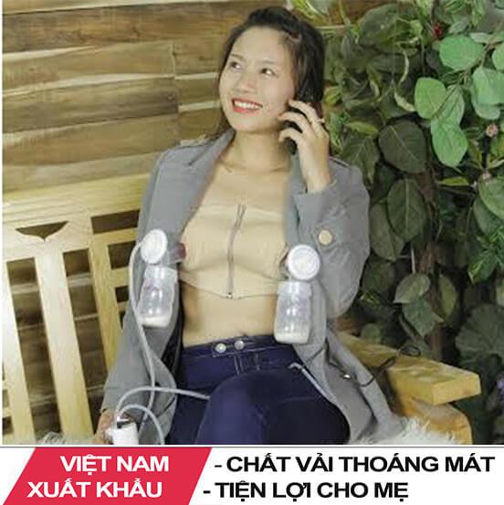 Áo Hút Sữa Rảnh Tay Việt Nam Xuất Khẩu
