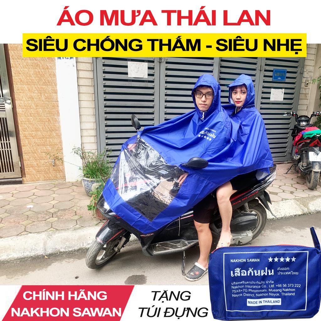 Áo Mưa Nam Thái Lan NaKhon SaWan - Áo Mưa Xe Máy Cao Cấp