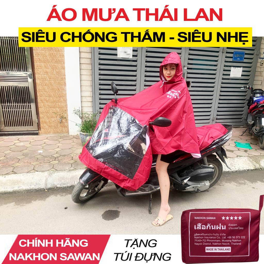 Áo Mưa 1 Đầu Thái Lan NaKhon SaWan - Áo Mưa Một Mũ