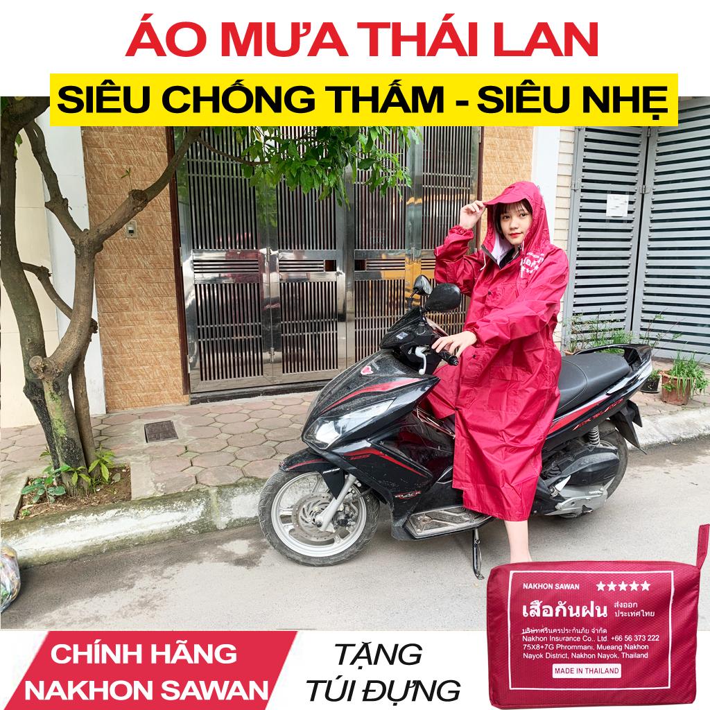 Áo Mưa Măng Tô Thái Lan NaKhon SaWan - Áo Mưa Xe Máy